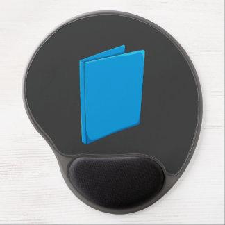Custom Blue Binder Folder Greeting Playing Cards Gel Mousepad