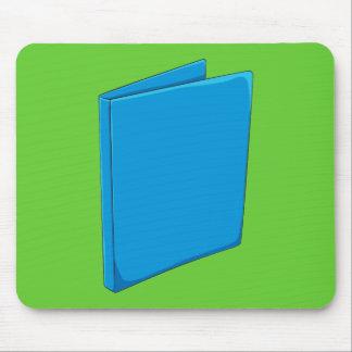 Custom Blue Binder Folder Greeting Playing Cards Mousepad