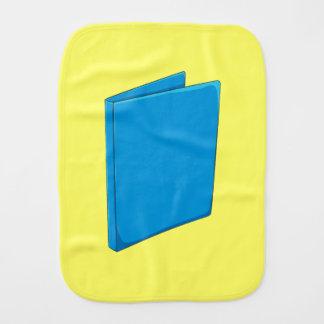 Custom Blue Binder Folder Shirt Kid Hoodies Jacket Burp Cloth