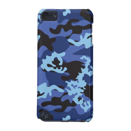 Custom Blue Camo iPod Touch Case | Zazzle