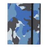 Custom Blue Camo Military Powis iCase iPad Cases iPad Cases