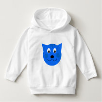 Custom Blue Cat/Kitten/ Tiger Toddler  Hoodie