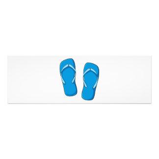 Custom Blue Flip Flops Sandals Mugs Bags Buttons Photograph