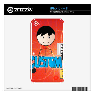 Custom Boards Skin for iPhone Decal For iPhone 4