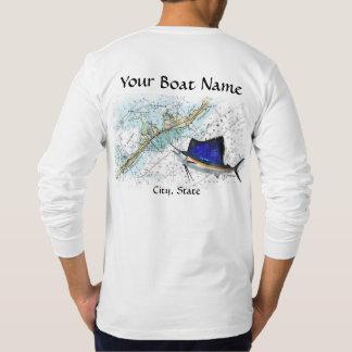 Men 39 s fishing tournament t shirts zazzle for Custom boat t shirts