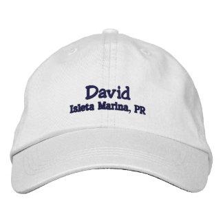 Custom boating Hat - David