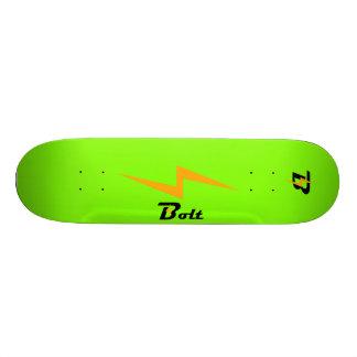 Custom Bolt Skateboard Deck