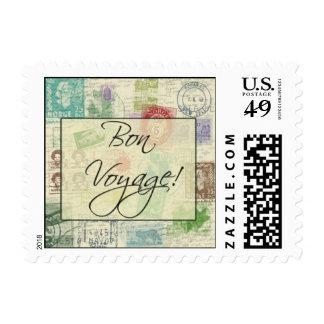 Custom Bon Vonyage Postage