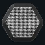 "Custom Boombot REX, Black Houndstooth Black Bluetooth Speaker<br><div class=""desc"">Wow! Look for the matching USB MULTI PORT.</div>"