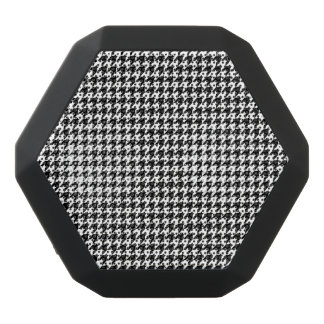 Custom Boombot REX, Black Houndstooth Black Bluetooth Speaker