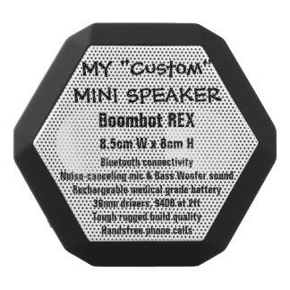 Custom Boombot REX Mini Speaker BLACK