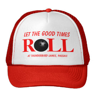 Custom Bowling Alley Promotional Hat