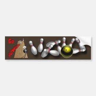 Custom bowling Bumper Stickers