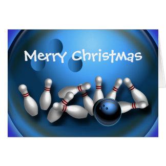 Custom Bowling Greeting Greeting Card