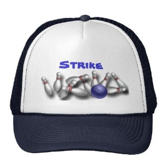 Custom Bowling Hats Caps Gifts