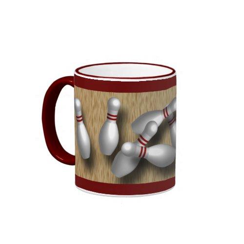 Custom Bowling mug gifts mug