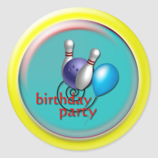 Custom Bowling Stickers Gifts
