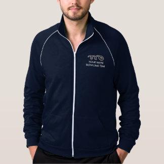 Custom bowling team apparel | Customizable name Jacket