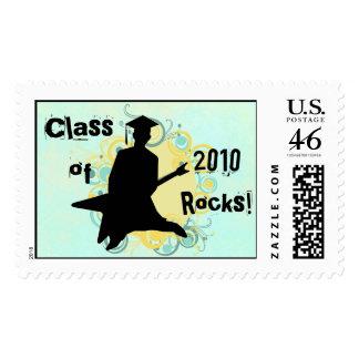 Custom Boy s Graduation Class of 2010 Postage