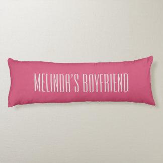Custom Boyfriend Body Pillow