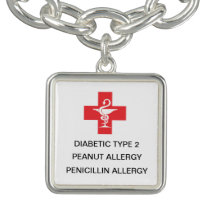 custom bracelet medical alert ID