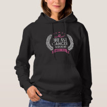 Custom Breast Cancer Survivor Awareness Since 2007 Hoodie