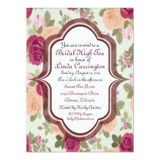 Custom Bridal High Tea Invitations
