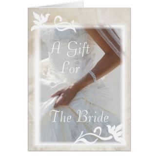 Custom Bridal Shower Gift Card