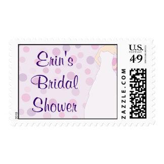 CUSTOM BRIDAL SHOWER POSTAGE