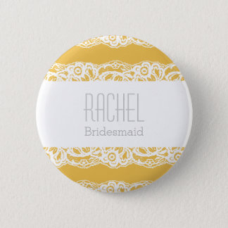 Custom Bridesmaid Button - Choose your own color!