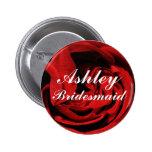 Custom Bridesmaid ID Button