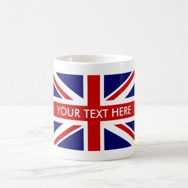 iprint Custom British Union Jack flag coffee mugs