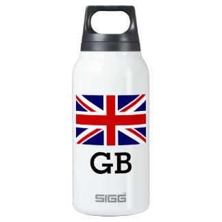 Custom British Union Jack flag SIGG Thermo bottle