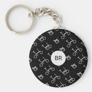Custom Brompton Bicycle Premium Round Keychain