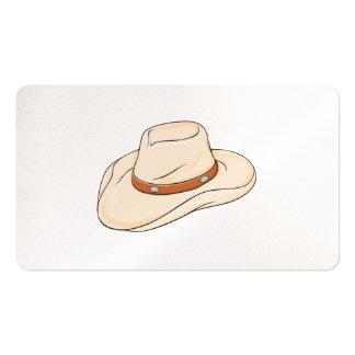 Custom Brown Bolo Cowboy Hat Invitation Postage Business Card