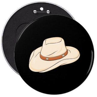 Custom Brown Bolo Cowboy Hat Mugs Bags Buttons Pin