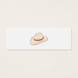 Custom Brown Bolo Cowboy Hat Mugs Bags Buttons Pin Mini Business Card