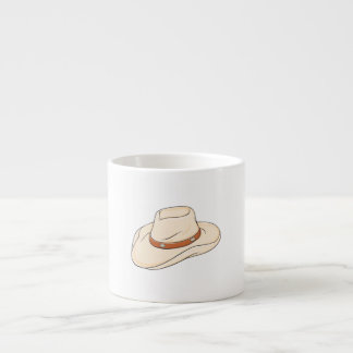 Custom Brown Bolo Cowboy Hat Playing Cards Pillows Espresso Cup