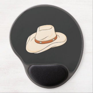 Custom Brown Bolo Cowboy Hat Playing Cards Pillows Gel Mousepads
