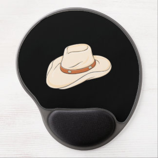 Custom Brown Bolo Cowboy Hat Playing Cards Pillows Gel Mouse Mat