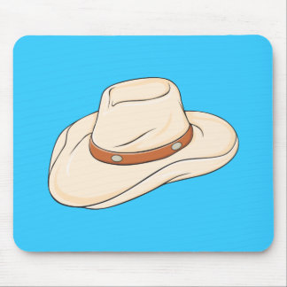 Custom Brown Bolo Cowboy Hat Playing Cards Pillows Mousepads