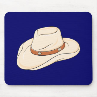 Custom Brown Bolo Cowboy Hat Playing Cards Pillows Mouse Pads