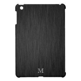 Custom Brushed Metal Look Ipad Mini Case