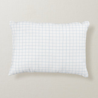 "Custom Brushed Polyester Accent Pillow 16"" x 12"""