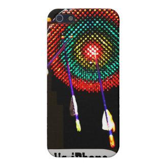 Custom Bullseye and Arrows 4/4S Case Cases For iPhone 5