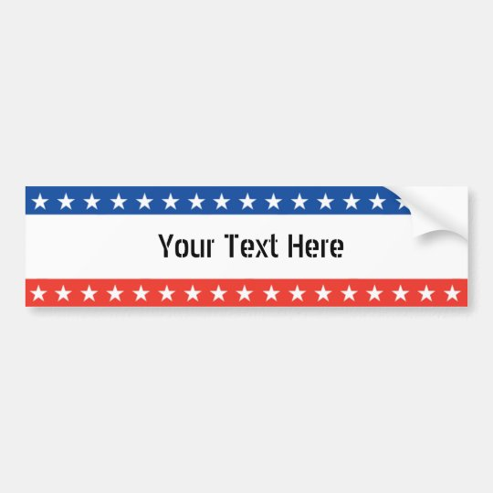 Custom Bumpersticker Bumper Sticker