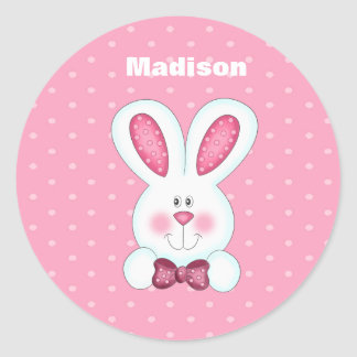 Custom Bunny Rabbit Sticker