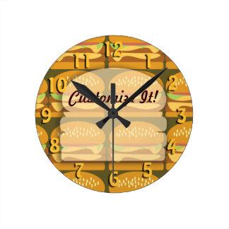 Custom Burger Clock
