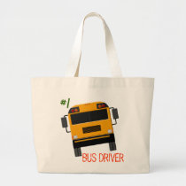 Custom Bus Graphics Bus Driver Tote Bag