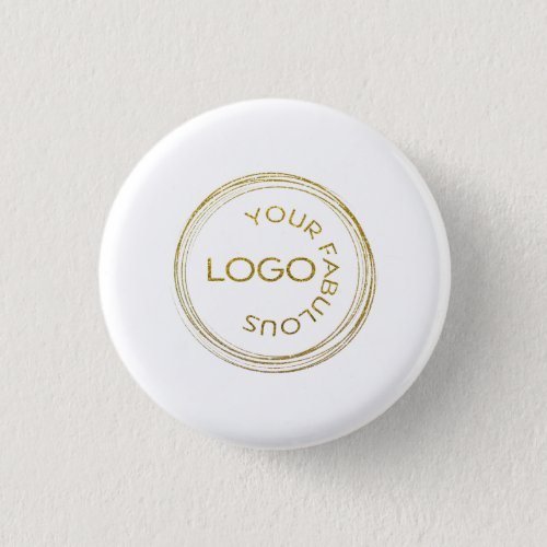Custom Business Add Your Logo Promotional Button